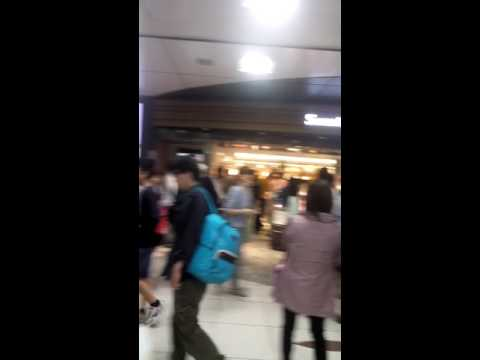 Busy Tokyo station