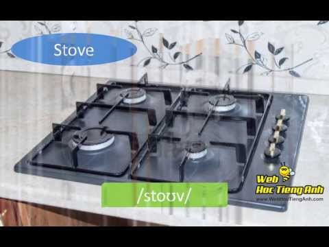 Learning Vocabulary Video: Home Appliances