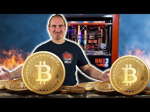 Bitcoin-MINING auf der