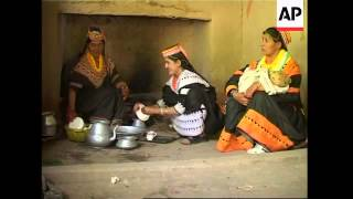 Kalash women reveal their unique traditions