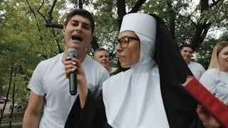 Монашка в Краснодаре. День Рождения! Смолин Любит Жизнь 3.0
