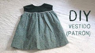 Patrones de vestidos de niña de 6 años