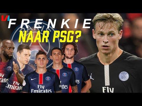 Voor Welke Topclub Moet Frenkie De Jong Kiezen? #2: Paris Saint-Germain