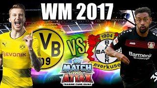 BORUSSIA DORTMUND - BAYER 04 LEVERKUSEN MATCH ATTAX WM 2017 SPIEL 11
