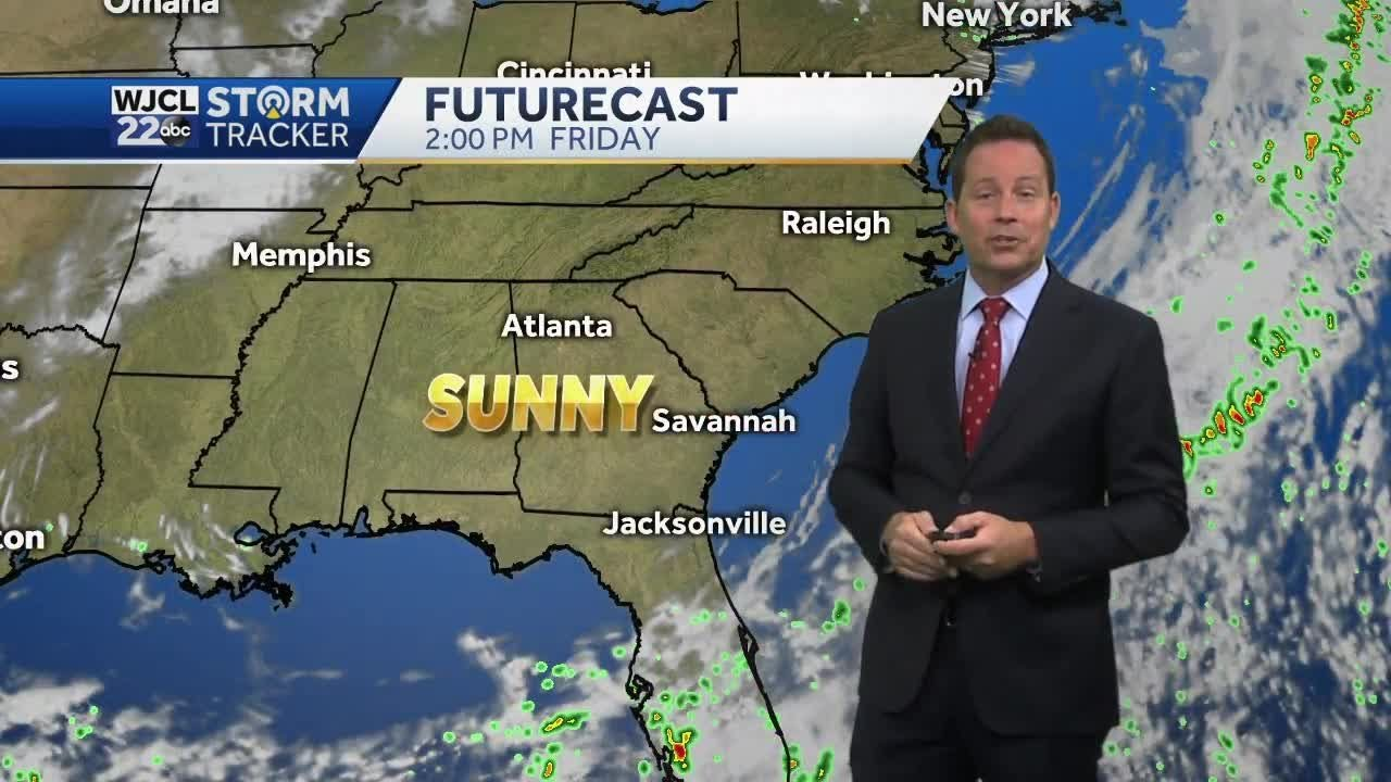 Suntastic stretch of weather ahead