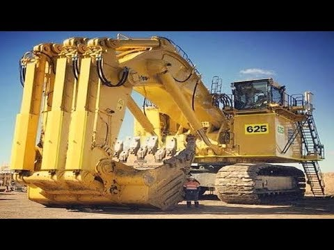 Heavy Dangerous Largest Work Equipment Mega Machines- World Mega Machines Excavator Heavy Equipment