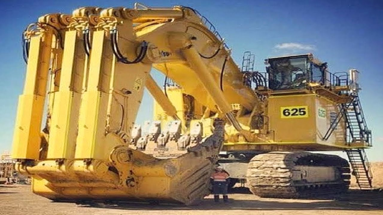 Heavy Dangerous Largest Work Equipment Mega Machines World Mega Machines Excavator Heavy Equipment Youtube