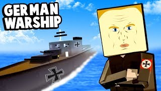 Spy Invades a German Warship to Win WW2 In Paint The Town Red!
