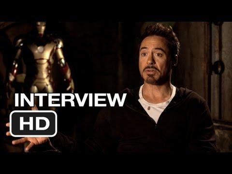 Iron Man 3 Interview - Robert Downey Jr. (2013) - Marvel Movie HD