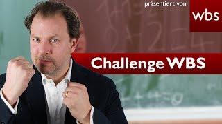 Challengen WBS: Sind 3 mal Hausaufgaben vergessen eine 6? | Rechtsanwalt Christian Solmecke