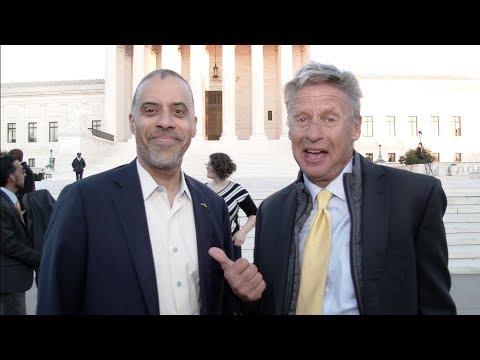 Gary Johnson Endorses Larry Sharpe for NY Governor