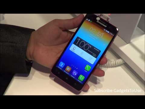 Lenovo S850 Hands on, Quick Review, Camera, Features and Overview HD at MWC 2014