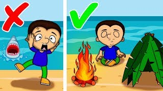 How to survive on desert island