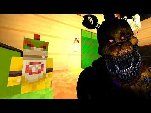 Minecraft Wii U - Nintendo Fun House - Bowser Jr