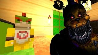 Minecraft Wii U - Nintendo Fun House - Bowser Jr's FNAF Nightmare! [35]