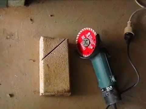 How to measure and cut paver with angle grinder - How To Measure And Cut Paver With Angle Grinder - YouTube