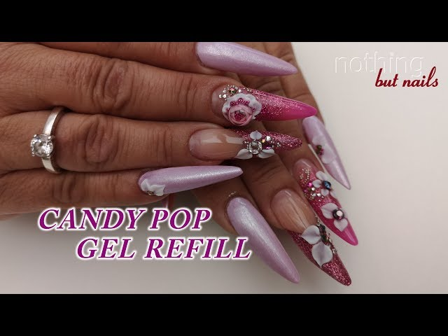 candypop gel refill  nothing but nails