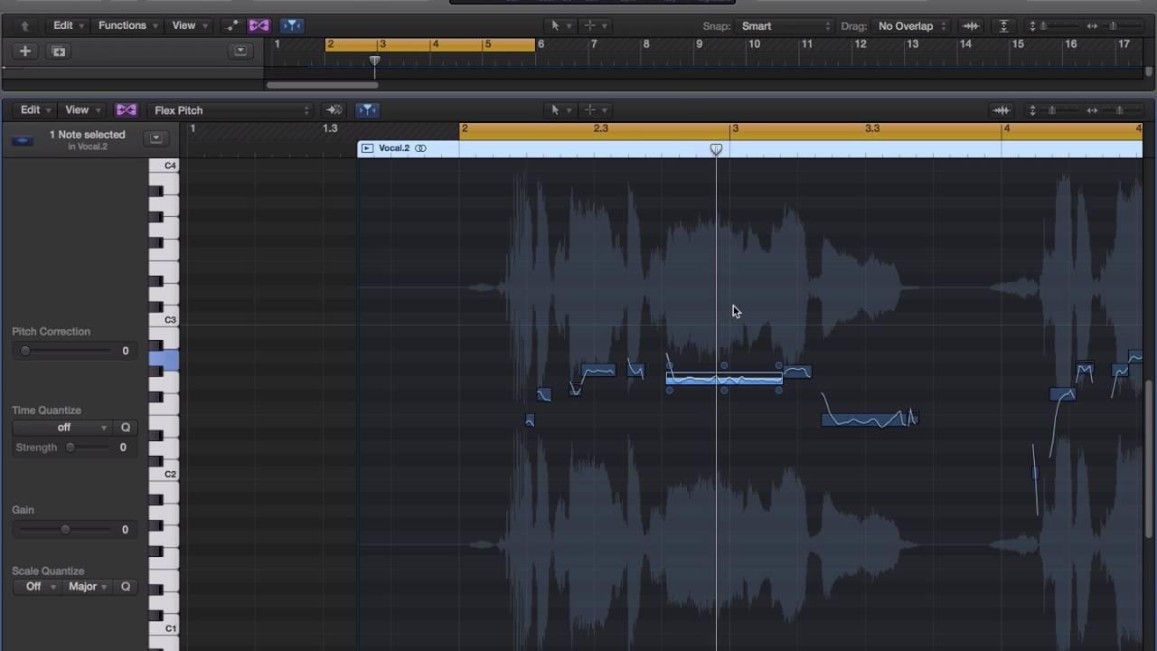 Logic 修正人聲音準 (帝米數位音樂) - YouTube