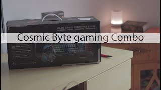 Cosmic Byte Solar gaming COMBO | Unboxing | Overview