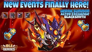 Idle Heroes (O) - New Events Finally! - Heroic Summon and Altar Exchange