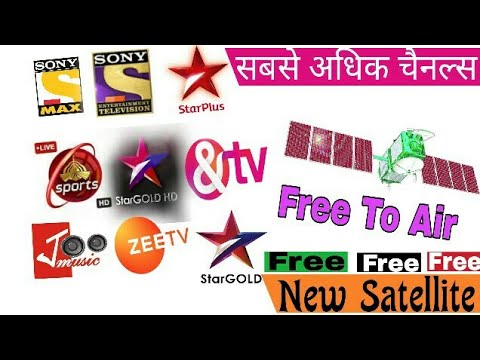 New Satellite Most Free To Air Channels All India Coverage..By Pure Tech
