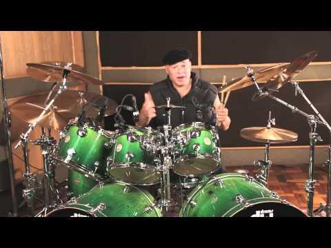 Narada Michael Walden Drum Instruction Video Promo, Drumming King