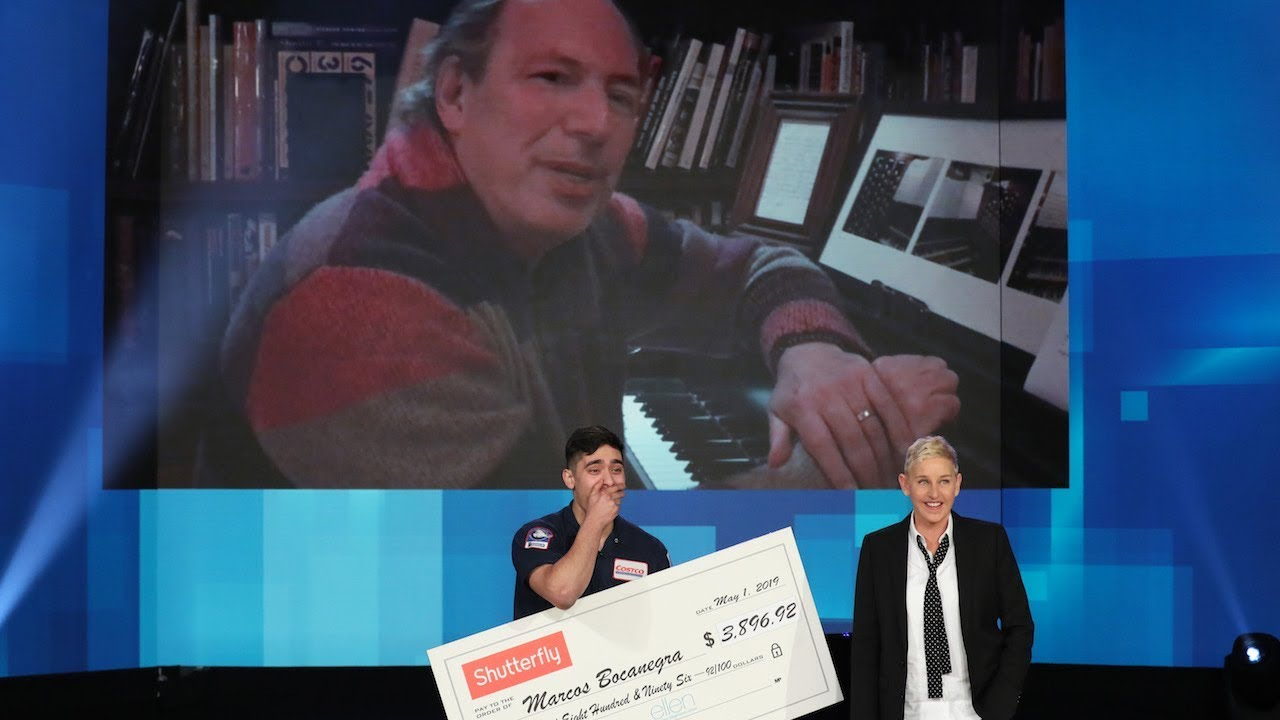 Viral Piano Player Gets a Surprise from His Idol, Composer Hans Zimmer