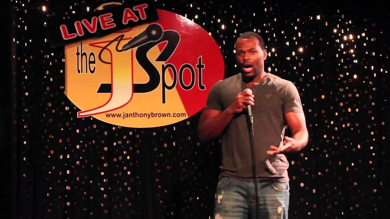 Actor/Comedian, Lionell Dalton LIVE @ The J Spot Comedy Club