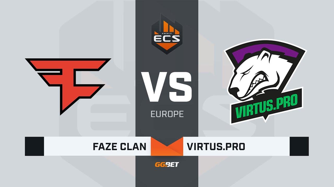 FaZe vs Virtus.pro, map 1 train, ECS Season 7 Europe