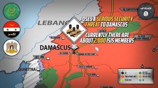 6 апреля 2018. Военная обстановка в Сирии. Сирийская армия готовится к штурму ИГИЛ возле Дамаска.