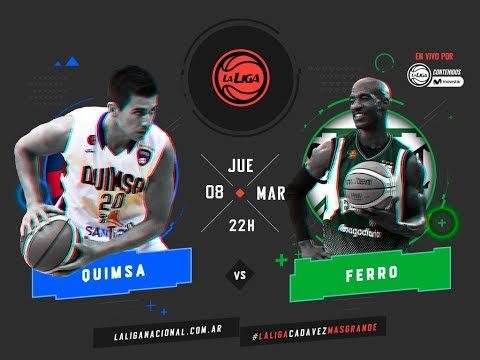 Liga Nacional: Quimsa vs Ferro | 22 HS