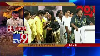 Cine artists support CM Chandrababu