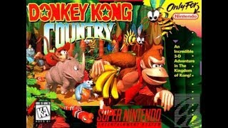 Donkey kong Country (SNES) Parte 1