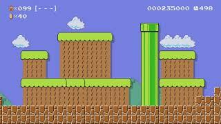 UNBEATABLE ENUNCIATION ~ Normal 100 Mario Challenge - Super Mario Maker - No Commentary