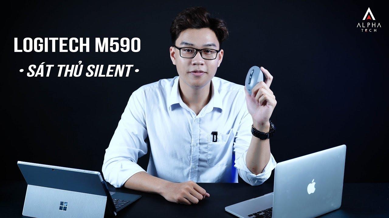 Đánh giá chuột không giây Logitech M590 - Slient | GIVEAWAY - Tặng chuột miễn phí