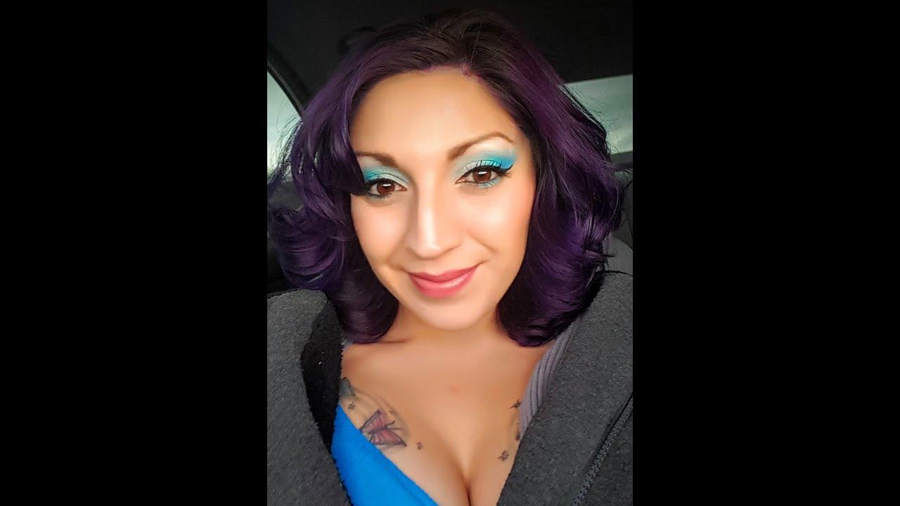 Purple Hair Pravana Vivids Violet Youtube