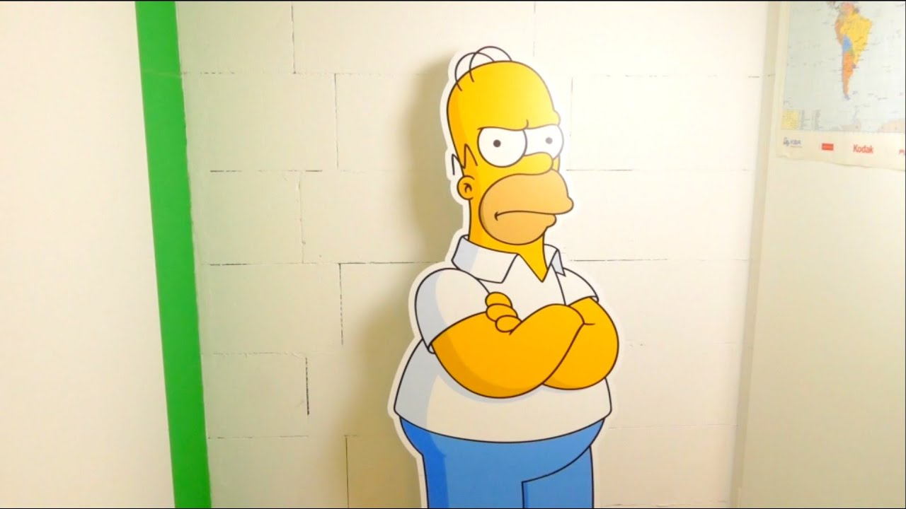 The Simpsons - Homer Cardboard Cutout - 160cm Lifesize