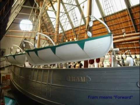 Norway: Oslo: The Fram Museum at the peninsula Bygdøy