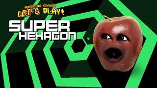 Midget Apple Plays - SUPER HEXAGON! (RAGEQUIT)