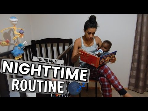 0f07538d8e NIGHT TIME ROUTINE ♡ YOUNG MUM EDITION (2019) - YouTube