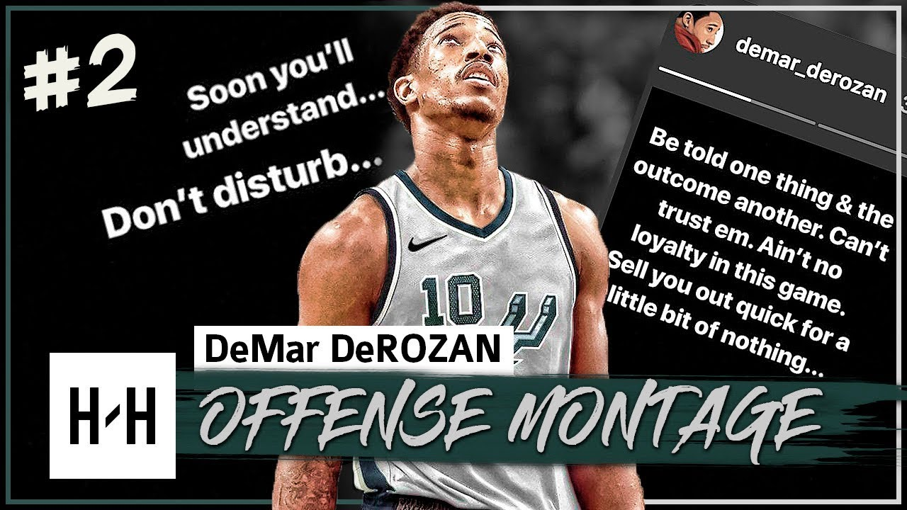 demar-derozan-full-offense-highlights-2017-2018-season-part-2-welcome-to-san-antonio-spurs