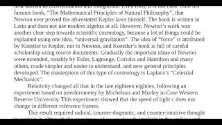 Essay 4   20th Century Cosmology, Fact or Myth?