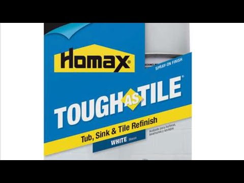 homax tough tile tub sink tile refinishing kit review and overview