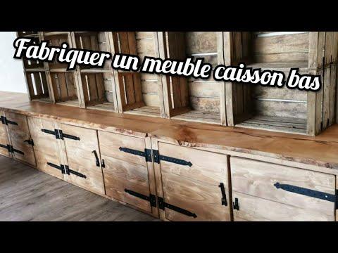 DIY: Fabriquer un meuble caisson bas