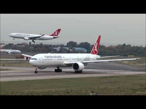 [HD] Another awesome spotting day on the FlyInn at Istanbul Airport - 10/10/2015