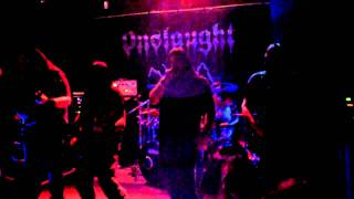 Onslaught - Thermo Nuclear Devastation - Pandemonium Club, Maidstone - 22nd September 2011