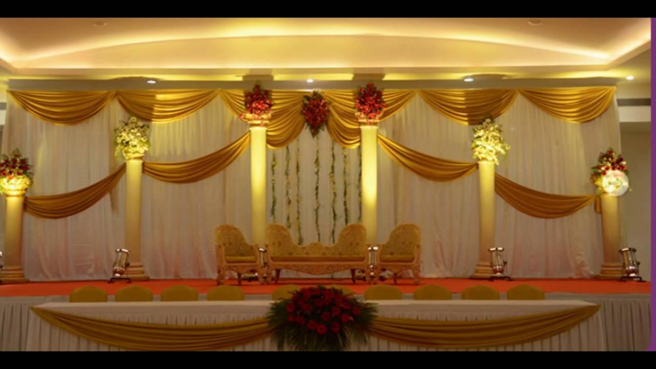 Madurai decorators new ideas of wedding stage decoration youtube junglespirit Image collections