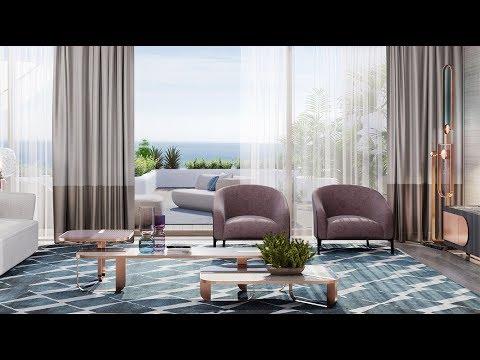 Современный Тренд. Интерьер апартаментов в престижной резиденции в Монако.