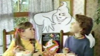 Ghostbusters Cereal commercial (1986)