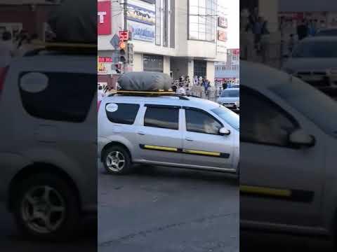 В Тамбове перевернулась пожарная машина после столкновения с Приорой 31 05 2019